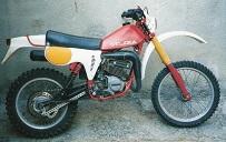 Gilera 125 GxR Copetizione D 1981