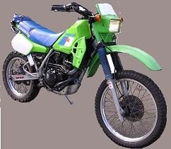 Kawasaki KX 250 Targato 1990