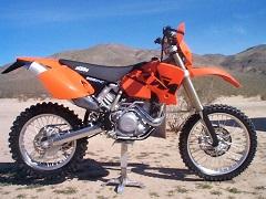 KTM 525exc 2003
