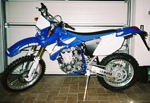 Yamaha WR 450 F 2004