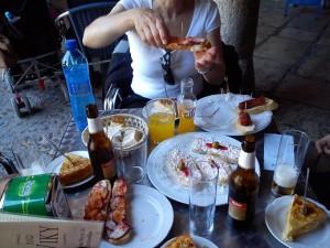 5 Tapas a pranzo