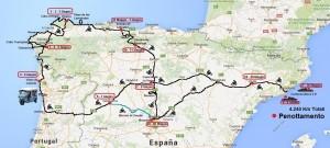 Itinerario Spagna e Portogallo1